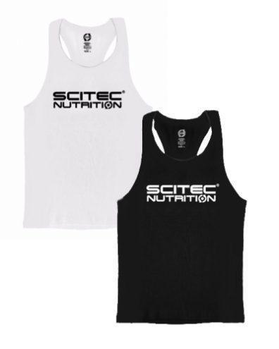 Майка Scitec Nutrition Vest Racerback White Scitec