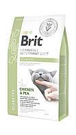 Brit Veterinary Diets Cat Diabetes сухой корм для котов при сахарном диабете 400 кг