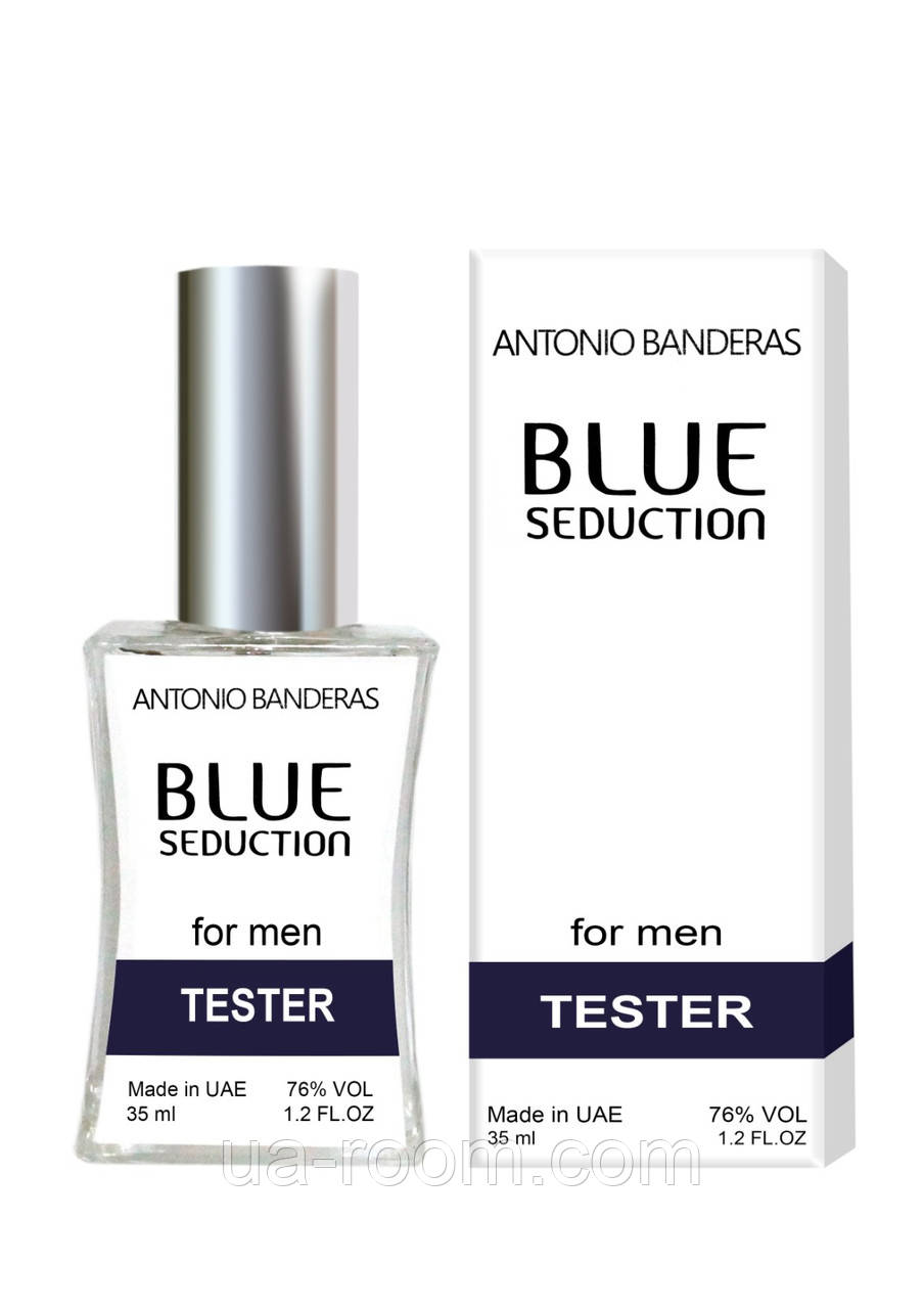Тестер мужской  Antonio Banderas Blue Seduction for Men, 35 мл.