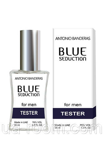 Тестер мужской  Antonio Banderas Blue Seduction for Men, 35 мл., фото 2