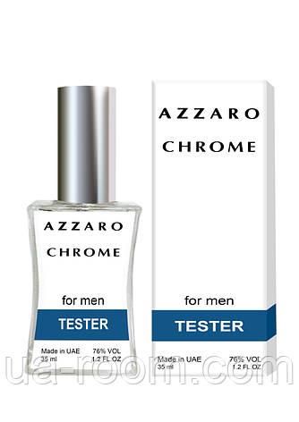 Тестер мужской Azzaro Chrome, 35 мл., фото 2