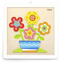 """Набор для творчества  Viga Toys """"Своими руками. Цветы"""" (50685)"""