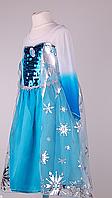 Карнавальное платье «Принцесса Эльза» рост 98-122