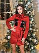 Замшевое коротенькое платье-рубашка с блестящими карманами, размеры: 42-44, 44-46, цвета - бордовый, черный, фото 8