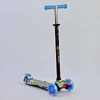 Самокат детский трехколесный Best Scooter, 4 свет. колеса PU, 1322