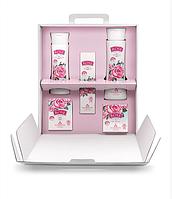 Подарочный набор косметики для женщин  Rose ORIGINAL 5 пр .(миц/вода,дн/кр, кр/д/рук, г/д/душа, кр/мыло)