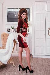 Платье Уголок, Осень - Зима