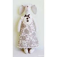 Мягкая игрушка - Зайка в платье