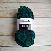 Плюшевая пряжа YarnArt Dolce Зеленый