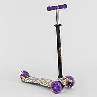 Самокат детский трехколесный Best Scooter, 4 свет. колеса PU, 1326