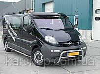 Козырек Renault Тraffic/Opel Vivaro (01-) / акрил.на креплении