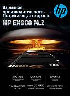 SSD накопитель HP EX900 500Гб M.2/M-Key PCIe x4 NVMe