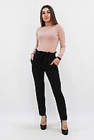 S, M, L, XL / Жіночі брюки з пояском Kosmo, чорний