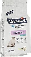 Сухой корм Advance Cat Sterilized Hairball для вывода шерсти у стерилизованных котов  10 кг