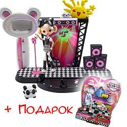 Кукла Джи  набор Концертная сцена в подарок модный набор Куу Куу Харадзюку Kuu Kuu Harajuku Concert Stage