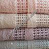 Махровое банное полотенце Горошины