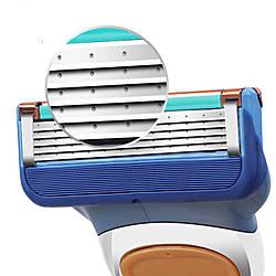 Сменные лезвия для бритв Gillette Fusion