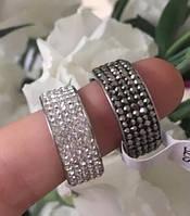 Красивое колечко с кристаллами. Элегантная бижутерия ., фото 1