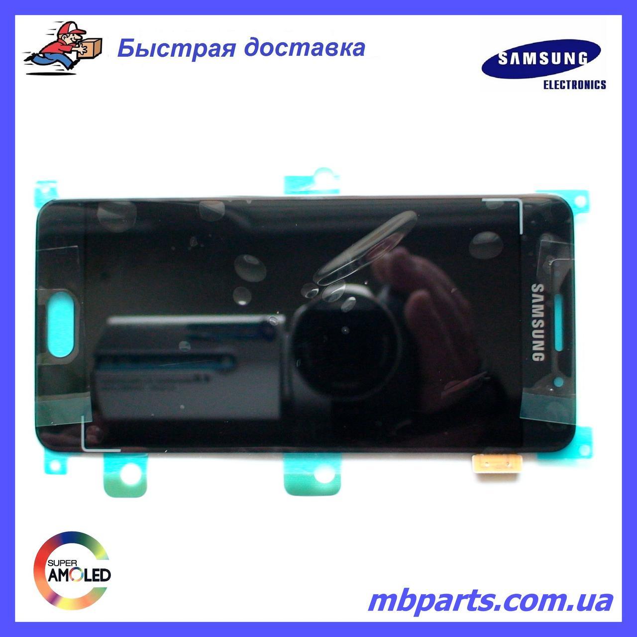 Дисплей с сенсором Samsung А310 Galaxy А3 Black оригинал, GH97-18249B