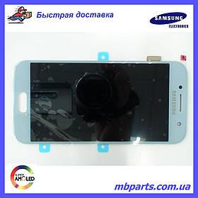Дисплей с сенсором Samsung А320 Galaxy А3 Blue/Голубой , GH97-19732C