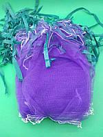 Сетка мешок для овощей на 2 кг фиолетовая (р20х30), 50 шт/уп