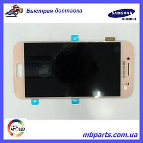 Дисплей с сенсором Samsung А320 Galaxy А3 Pink/Розовый, GH97-19732D