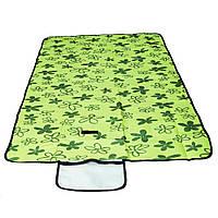 Раскладной коврик для пикника 145х80 см, зеленый