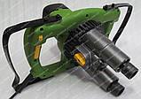 Міксер будівельний Procraft РММ2300/2 (двухмиксерный), фото 3