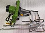 Міксер будівельний Procraft РММ2300/2 (двухмиксерный), фото 5