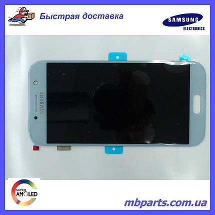 Дисплей с сенсором Samsung A520 Galaxy A5 Blue/Голубой , GH97-19733C, фото 2