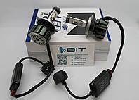 Комплект светодиодных ламп T6 H4 Turbo LED 9-48V 35W 6000K (2 шт)
