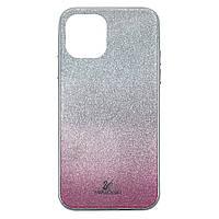 Чехол накладка xCase на iPhone 11 Swarovski Case pink