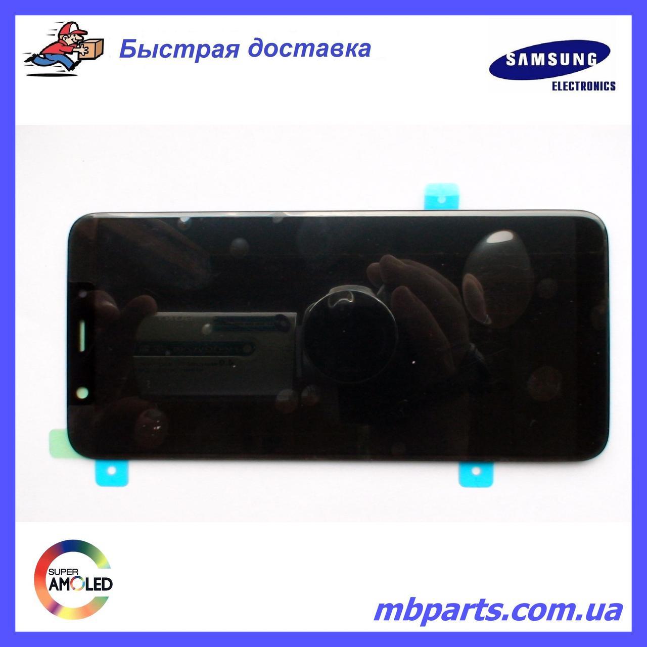 Дисплей с сенсором Samsung A710 Galaxy A7 Black оригинал, GH97-18229B