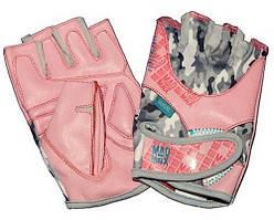 Женские перчатки для фитнеса и бодибилдинга MadMax No matter MFG 931