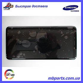 Дисплей с сенсором Samsung А920 Galaxy А9 2018 чёрный/black, GH82-18308A