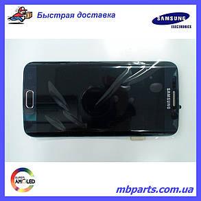 Дисплей Samsung G925 Galaxy S6 Edge с сенсором Black , GH97-17162A, фото 2