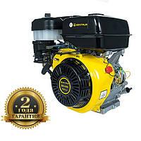 Двигатель ДВЗ-420Б (15 л.с.) +БЕСПЛАТНАЯ ДОСТАВКА! КЕНТАВР (вал 25,4 мм; 420 куб.см), бензиновый шпоночный