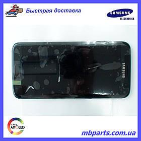 Дисплей с сенсором Samsung G935 Galaxy S7 Edge Черный/Black, GH97-18533A