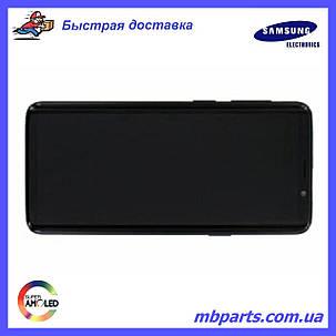 Дисплей з сенсором Samsung G960 Galaxy S9 Black, GH97-21696A, фото 2