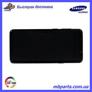 Дисплей с сенсором Samsung G965 Galaxy S9 plus Black, GH97-21691A, фото 2
