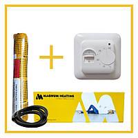 Нагревательный мат Magnum150-300-2.0 150-300-2.0 м². Теплый пол под плитку.