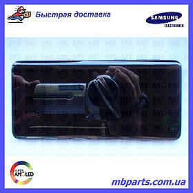 Дисплей с сенсором Samsung G973 Galaxy S10  Black, GH82-18850A, оригинал!