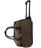 Большая сумка на колесах из ткани XL  (59*31*38) чемодан дорожная сумка валіза на колесах