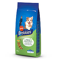 Brekkies Dog Chicken для собак усіх порід з куркою 20 кг