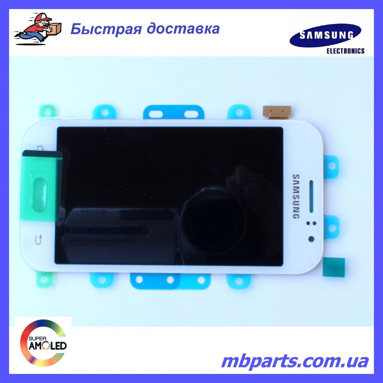 Дисплей з сенсором Samsung моделі j110 Galaxy J1 White оригінал, GH97-17843A