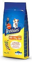 Сухой корм Brekkies Dog Mini для взрослых собак малых пород 20 кг