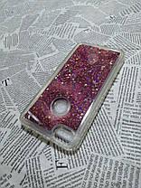 Перетекающий чехол Stardust (Звездная пыль) для Xiaomi (Ксиоми) Redmi Note 5A Prime (Красный), фото 3