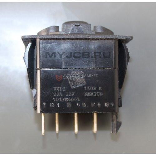 Переключатель света 2-х позиционный JCB 701 / E0001 7010 701-E0001