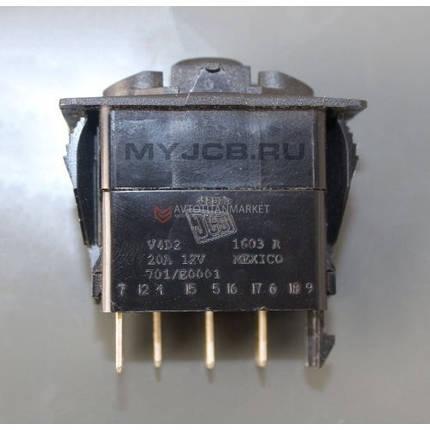 Переключатель света 2-х позиционный JCB 701 / E0001 7010 701-E0001, фото 2