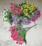 Букет мелкой розы 27 см, в ассортименте